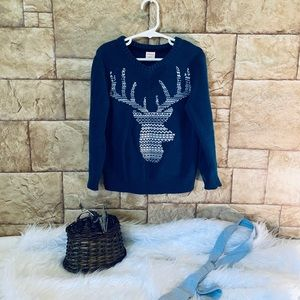 Boys Gymboree Fair Isle Deer Sweater